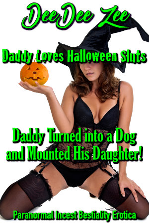 Daddy Turned into a Dog and Mounted His Daughter!