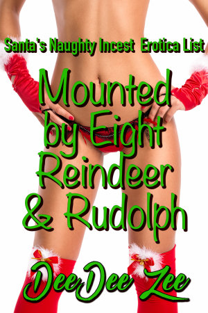 Mounted by Eight Reindeer & Rudolph