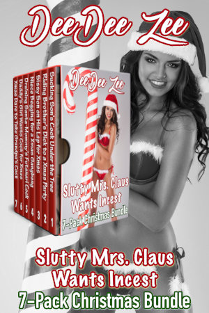 Slutty Mrs. Claus Wants Incest 7-Pack Christmas Bundle