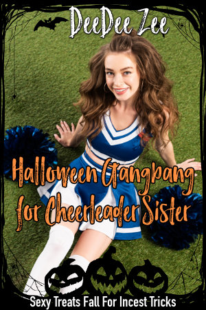 Halloween Gangbang for Cheerleader Sister