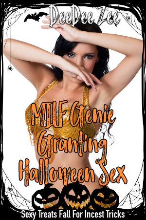 MILF Genie Granting Halloween Sex