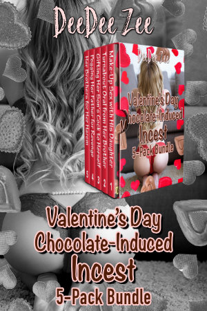 Valentine's Day Chocolate-Induced Incest 5-Pack Bundle